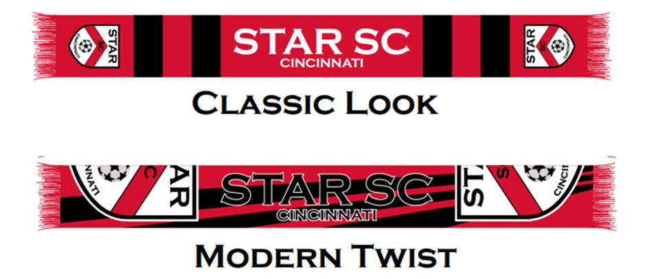Show your spirit - STAR SC Scarves!